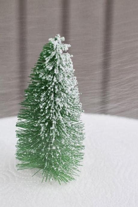 diy navidad mini 225 rboles de navidad hechos con cepillos