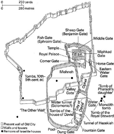 map of ancient jerusalem in jesus time maps of ancient jerusalem from king david to herod s time