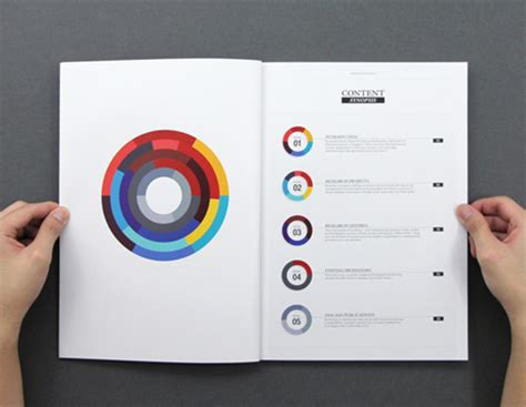 design inspiration table of contents editorial design 40 beautiful exles and 10 tutorials