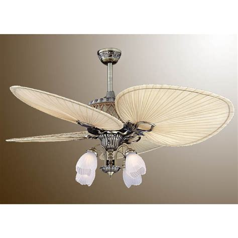 ceiling fan palm blade covers leaf ceiling fan with light home design inspirations