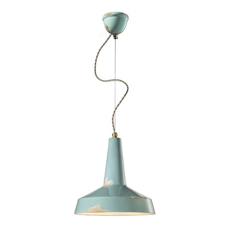 Vintage Style Pendant Lights Retro Style Pendant Light Made In Italy By Ferroluce