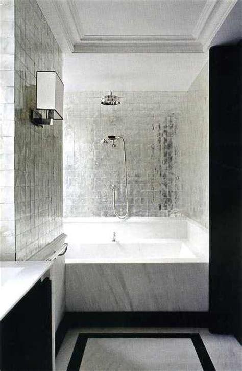 metallic bathroom tiles bath metallic tile big bathroom
