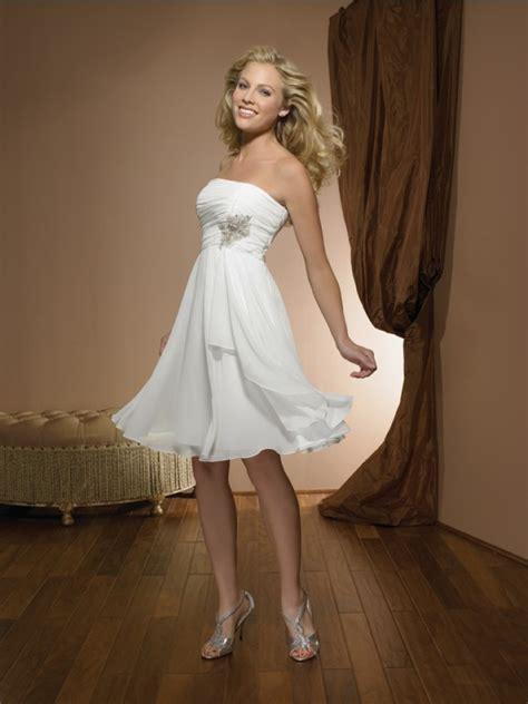 stunning cute wedding gown short length mybridaldress