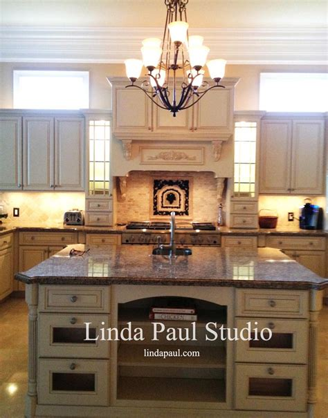 Kitchen Backsplash Metal Medallions by Grapes Mosaic Tile Medallion Kitchen Backsplash Mural