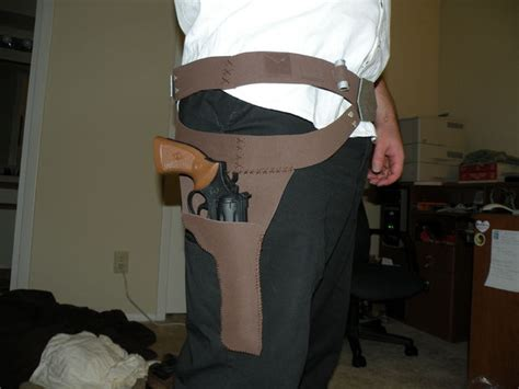 How To Make A Paper Wars Gun - wars han belt gun holster