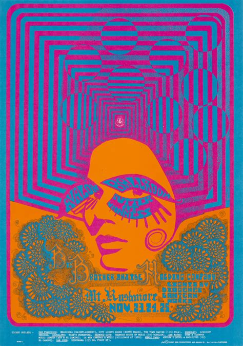 Jo In Retro Sunglasses Intl sfo s trippy show of rock posters eat drink play