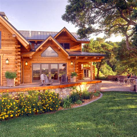 luxury log homes 171 real log style