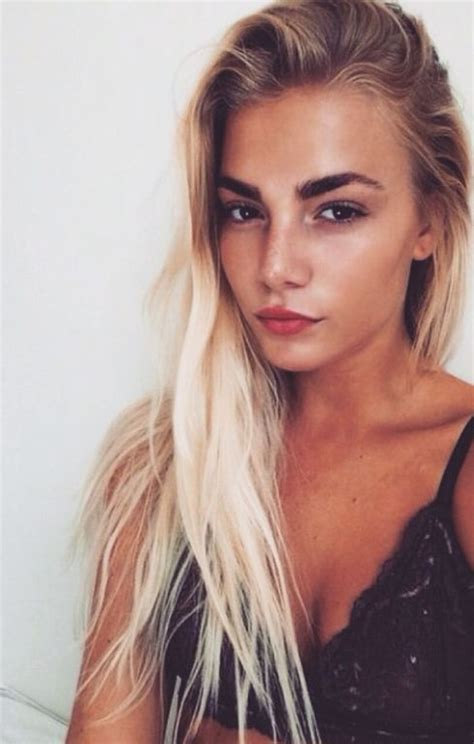 blonde hairstyles dark eyebrows blonde hair black eyebrows google search hair ideas