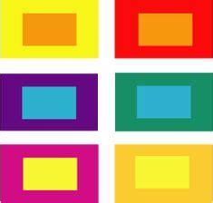 color contrast definition itten 5 simultaneous contrast roze valt in het rode