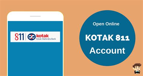 how to open account in kotak mahindra bank kotak 811 how to open saving account in just 5 minutes