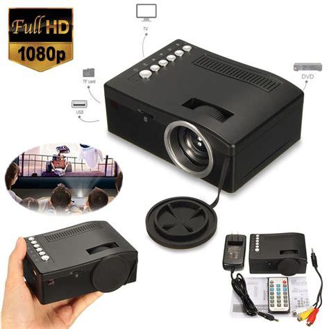 Tv Led Polytron Home Teater hd 1080p home theater led mini portable projector cinema usb tv vga tf av sale banggood