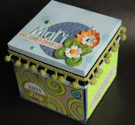 Tutorial Explosion Box En Español | tutorial exploding box x 232 nia crafts