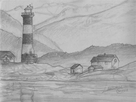 F Drawing Pencil by Easy Pencil Drawings Of Scenery Search Drawings