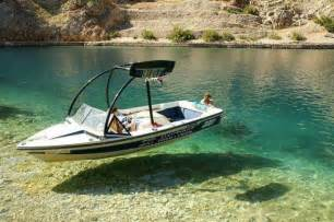 Mastercraft Boat Upholstery Floating Boat Illusion