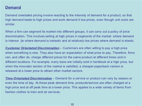 Mba Marketing Lecturer by Lecture 8 Mba Marketing Management Pricing