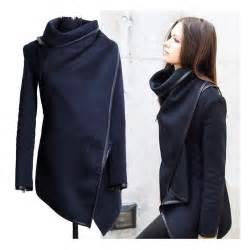 Outwear Women S Boyfriend Style Wool Long Trench Warm Slim Jacket