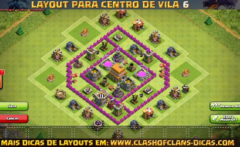 video de layout cv 6 layouts de centro de vila 6 para clash of clans clash of