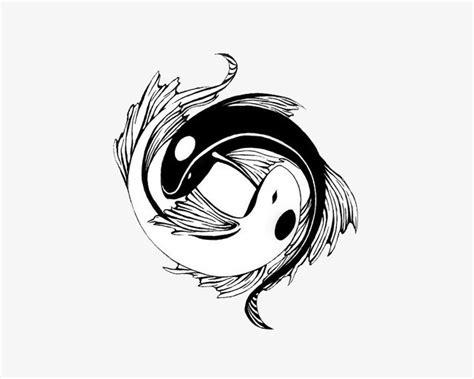 太极图鲤鱼素材图片免费下载 高清装饰图案png 千库网 图片编号7597202