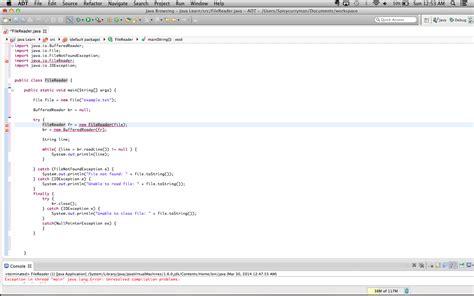 tutorial java bufferedreader properly reading files with filereader and bufferedreader