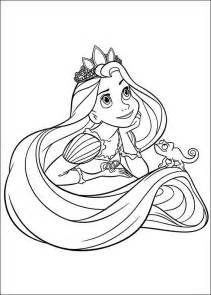 princess rapunzel tangled disney coloring pages