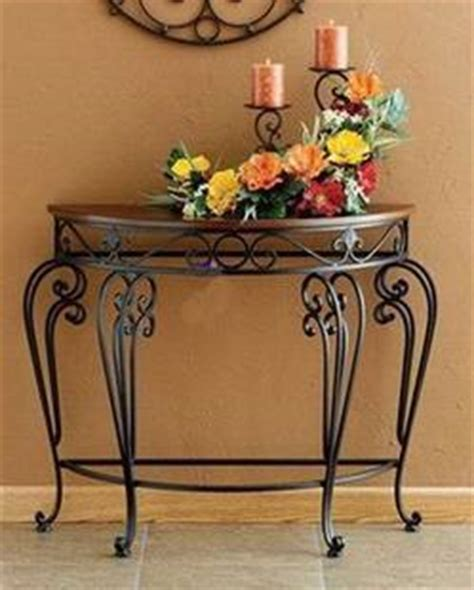 half table against wall specials clearance is fashion metal wrought iron console