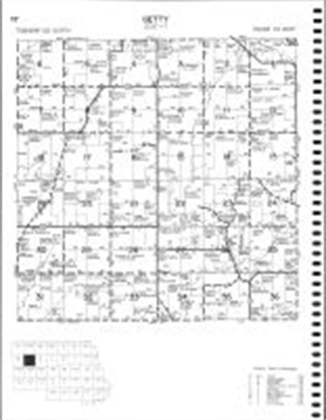 Stearns County Property Records Getty Township Atlas Stearns County 1982 Minnesota