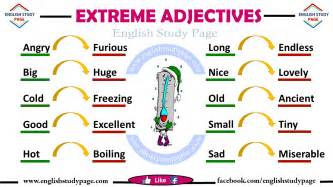 adjectives in study page