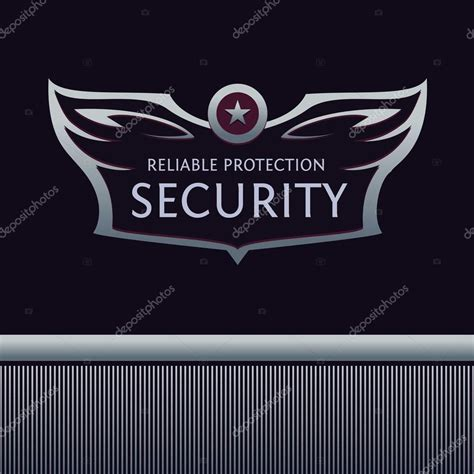 editable logo templates editable template logo for security organization heraldic