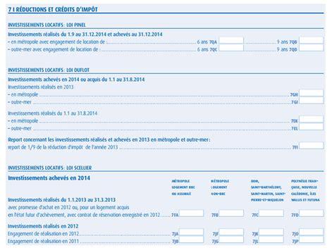 Formulaire Credit D Impot 2015 Loi Pinel D 233 Claration Imp 244 T Sur Le Revenu Loi Pinel