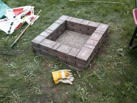 How To Build A Backyard Pit Cheap Cheap Fire Pit Wood Burning Fire Pit Natural Stone And