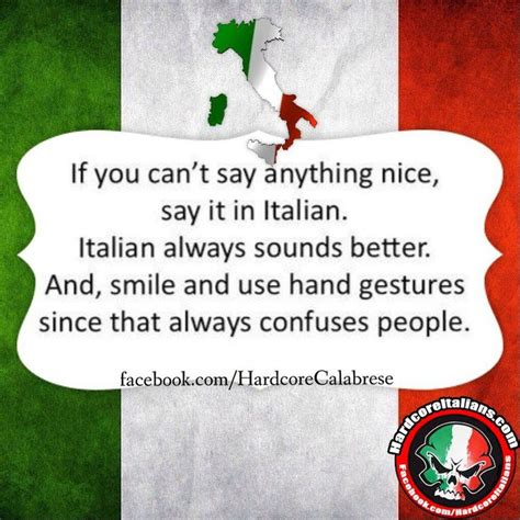 how do you say in italian if you can t say anything say it in italian italian