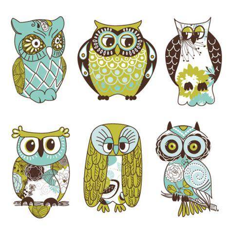 desain gambar owl kata kunci kartun burung hantu hewan ilustrasi garis