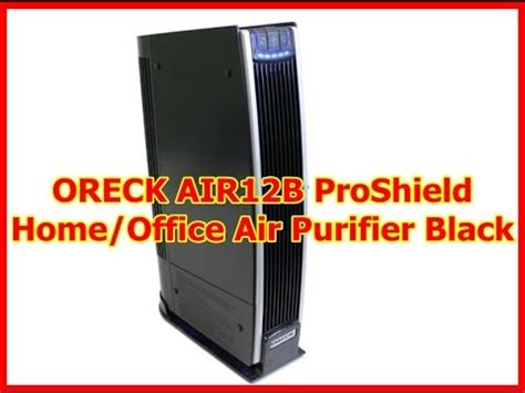 oreck proshield air purifier air12b