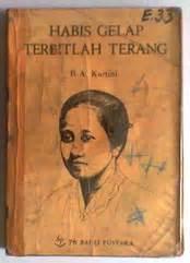 Buku Habis Gelap Terbitlah Terang R A Kartini Armijn Pane r a kartini habis gelap terbitlah terang cetakan x bale buku bekas used bookstore