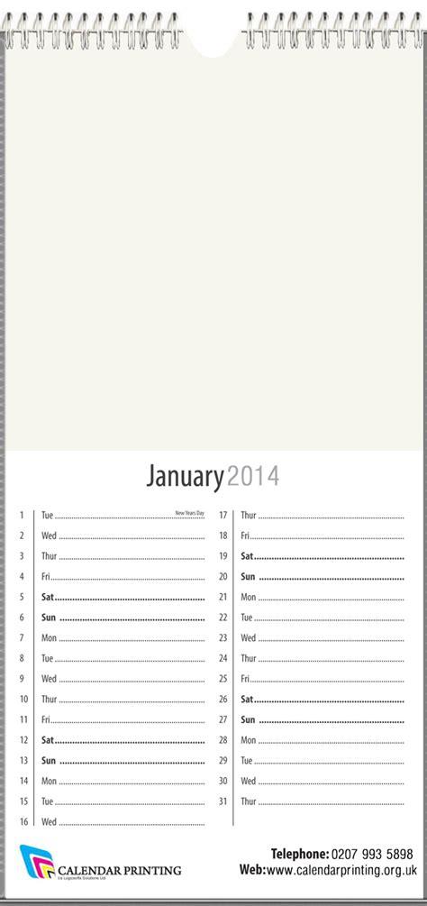 slim template calendar printing 247 calendar templates
