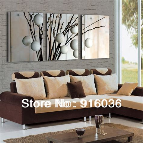 Decorative Paintings For Living Room by Free Shipping 3 Panels Sale Modern Decorative