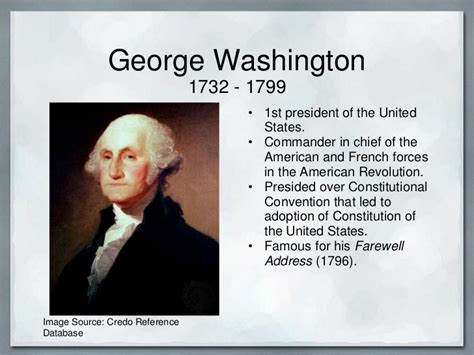 george washington biography ppt name banner powerpoint