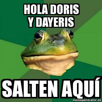 Foul Bachelor Frog Meme Generator - meme foul bachelor frog hola doris y dayeris salten aqu 237