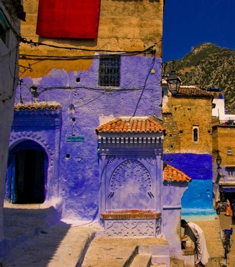 blue city in morocco chefchaouen the beautiful blue city in marocco