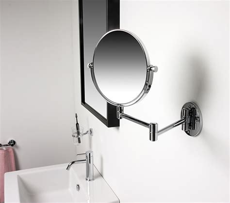 miller bathroom mirrors miller classic modern 190mm round magnifying mirror 8781c