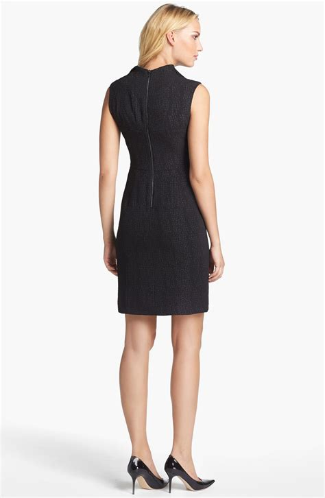 Marc Black marc new york by andrew marc crepe sheath dress in black lyst