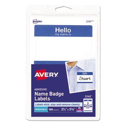 printable adhesive name tags american paper twine co avery 174 printable adhesive