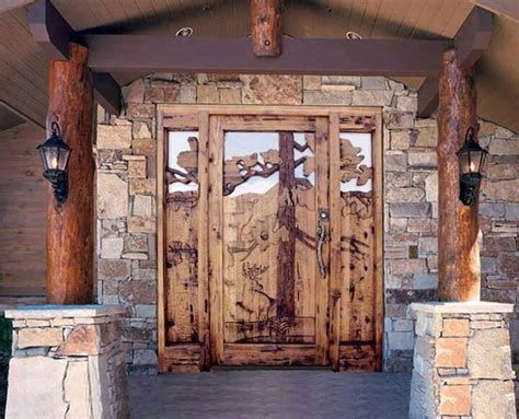 Log Home Front Doors Front Door Log Cabin Hadaway Beautiful Columns And Doors