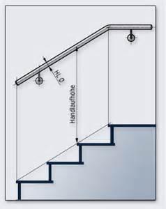 treppen handlauf vorschriften montagehinweise f 252 r handl 228 ufe