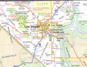 nevada arizona map