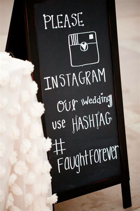 Wedding Invitation Hashtags by 10 Great Ideas To Hashtag Your Wedding With Instagram