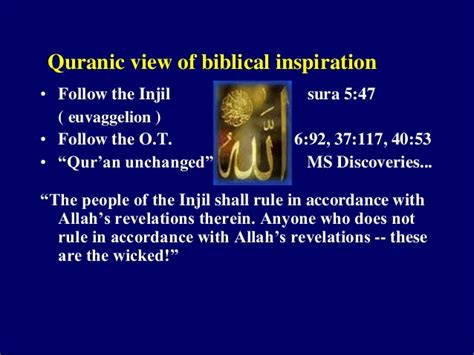 the bible and the qur an biblical figures in the islamic tradition books ars class understanding islam ppt and notes