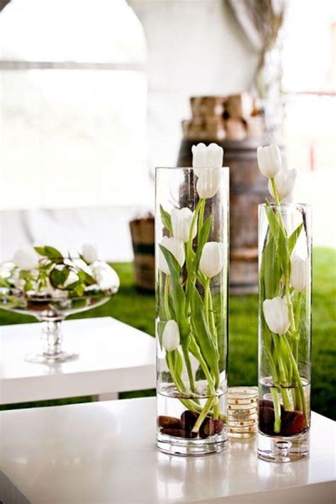 Tulip Bulbs In A Vase by Decorations Centerpieces Landeelu
