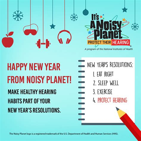 other terms for new year happy new year from noisy planet make the healthy hearing
