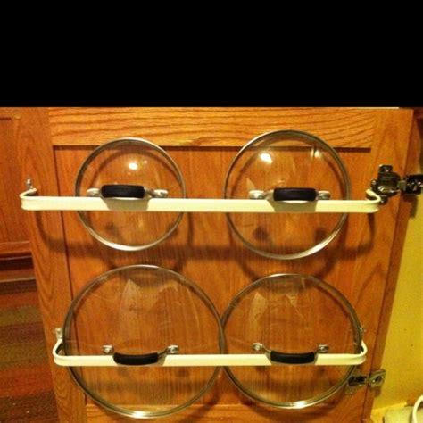 Pot Lid Storage Rack